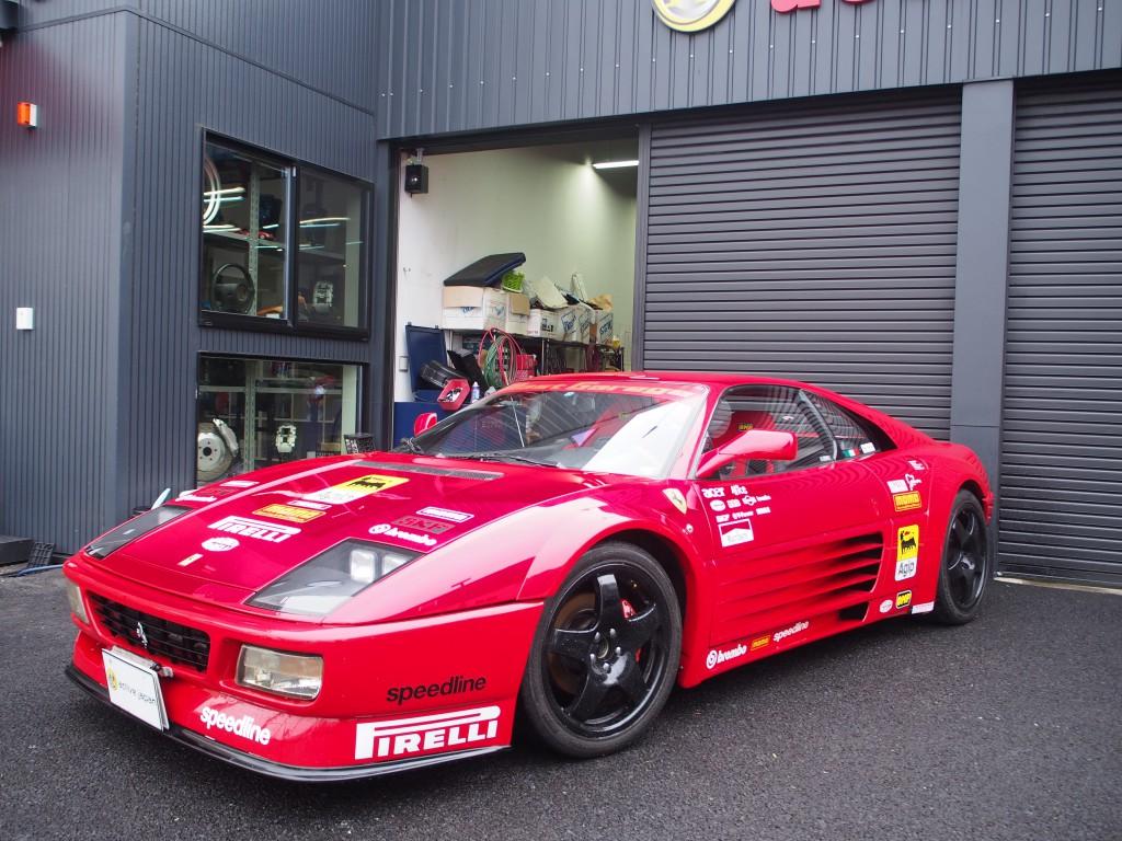 フェラーリ 348 348tb ル・マン...